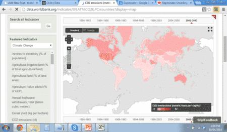 World Bank map