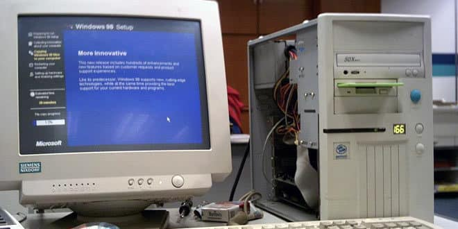 Computer with Windows 98