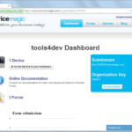 Mobile Forms dashboard